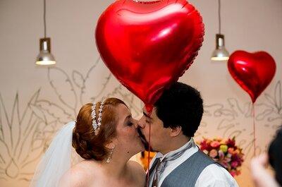 Casamento de Isa e Santi: vintage, alegre e emocionante