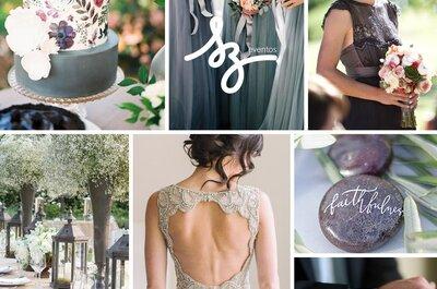 Cómo decorar una boda en escala de grises: Lo mejor de la sofisticación ¡sólo para ti!