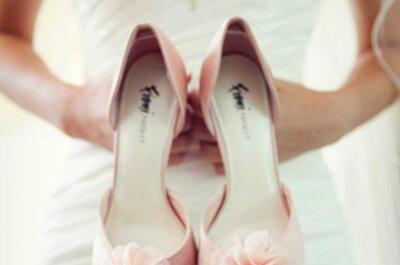Dicas para noivas do verão: como estar com os pés confortáveis e lindos