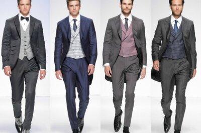 Dal 'marine' all' hipster, tutti i trend per lo sposo 2015