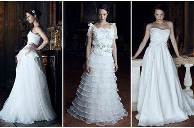 Alberta Ferretti Forever 2013, il fascino del bianco in tutte le sue sfumature
