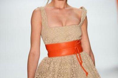 Tendencias de verano 2013: vestidos coloridos para tu luna de miel