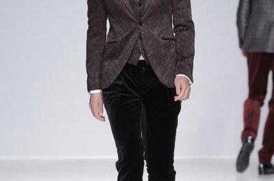 Kolekcja męskiej mody ślubnej Fuentecapala 2014
