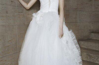 Una hada nupcial: Los vestidos de novia primavera 2015 de Vera Wang ¡son un sueño!