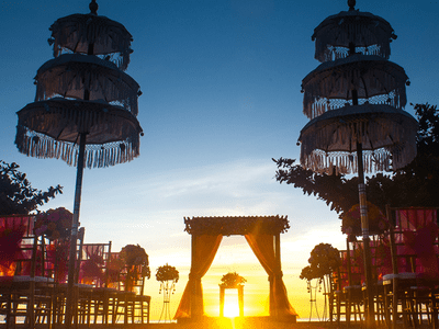 Luxurious Destination Weddings at Kayumanis in Bali
