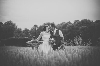 Photos de couple : avant ou après la cérémonie de mariage ?