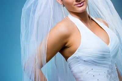 Die schönsten Hochzeitsfrisuren mit Schleier für Bräute mit kurzen Haaren