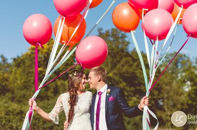 Hochzeit mit Fachwerk-Charme – Hanna & Sebastian heirateten in der Oberen Mühle!