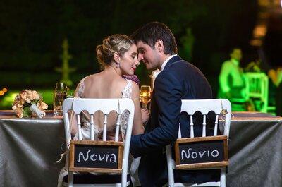 Cómo decorar las sillas de matrimonio con más estilo