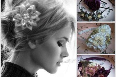 Tocados vintage para las novias más creativas