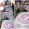 Decoración de boda con libros - Foto Kaysha Weiner