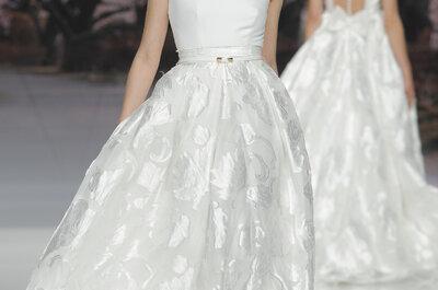 Vestidos de novia Inmaculada Garcia 2017: Diseños con inspiraciones únicas