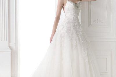 De allermooiste prinsessen jurken uit collectie Pronovias 2015
