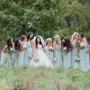 Pasteltinten voor jouw bridesmaids
