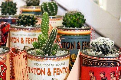 Decora tu boda con Cactus: Ideas que te fascinarán