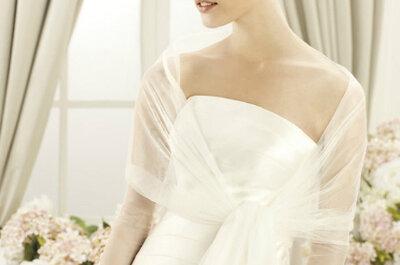 Chaquetas de novia de la nueva colección de Pronovias