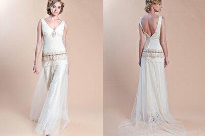 Robe de mariée Havilland : collection Claire Pettibone 2014