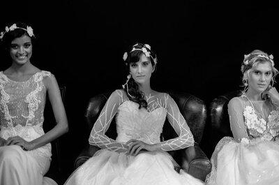 Pássaros de Carol Hungria no Salão Casamoda Noivas 2016: Glamour e romantismo MÁXIMO!
