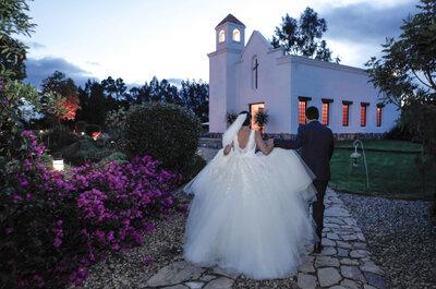 Una boda delicada y romántica, el sello de Natalia y Christian cuando dieron el sí