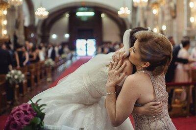 Cómo mantener una buena relación con tu mamá durante la planeación de la boda