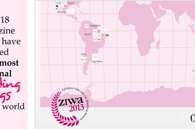 Os 99 blogs de casamento mais originais do mundo - ganhadores ZIWA 2013
