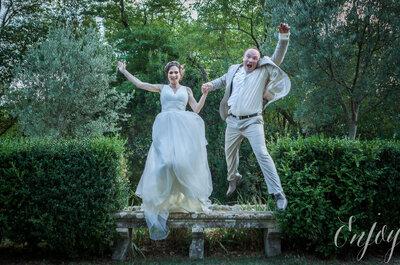 Le mariage de Clotilde + Pierre à Montpellier : Une véritable bulle de bonheur