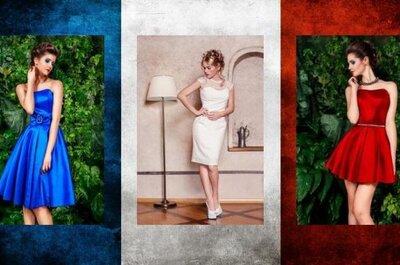 Francuska elegancja w modzie weselnej
