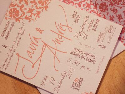 5 claves para cautivar a tus invitados desde las invitaciones de boda