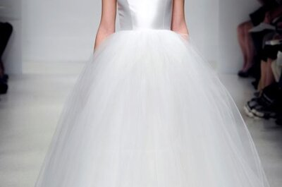 Amsale Fall 2012 Bridal Collection of Classic & Refined Wedding Dresses
