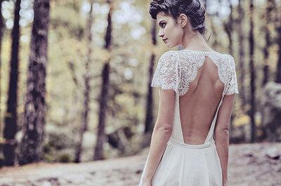 Suavidade e leveza: os vestidos de noiva da parisiense Laure de Sagazan