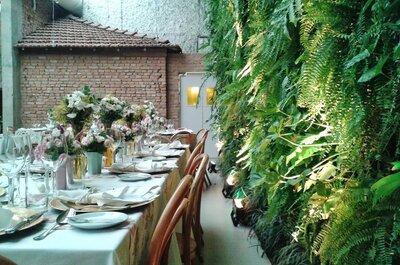 Charme total: 8 lugares super bacanas para o seu mini wedding em São Paulo