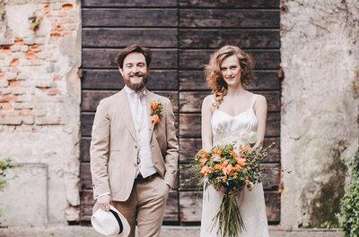 Amor a la italiana: Una boda rústica que... ¡Te hará soñar!