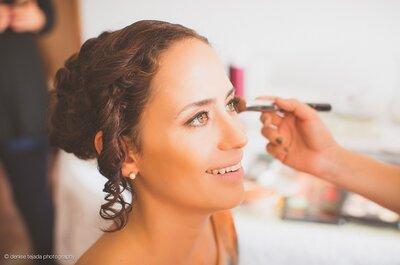 Un maquillaje fresco para novias e invitadas. ¡Conoce cómo lograrlo!