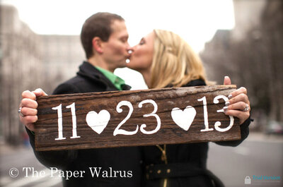 Plaquinhas e cartazes divertidos para seu casamento