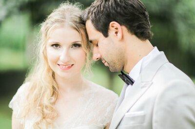 Como conseguir um casamento elegantíssimo em verde menta? Eles arrasaram!