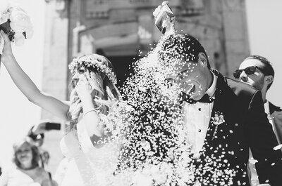Dulce & Fábio: um casamento em branco e rosa