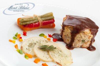 Grupo Montblanc Banquetes, lo mejor en calidad y servicio para tu boda