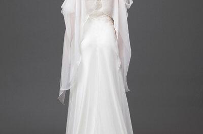 Alberta Ferretti 2015: Vestidos de novia que combinan el encanto con siluetas bohemias... ¡Impresionantes!