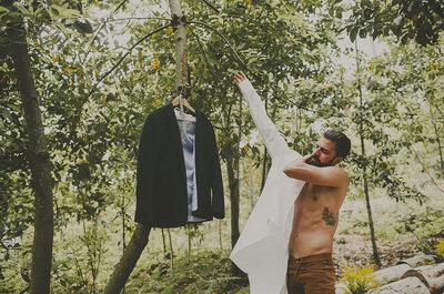 Fit für die Hochzeit im Sommer: So tritt der Bräutigam mit Sixpack vor den Traualtar!