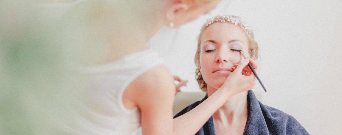 Ein sommerlicher Teint für das Braut Make-up – wie von der Sonne geküsst!