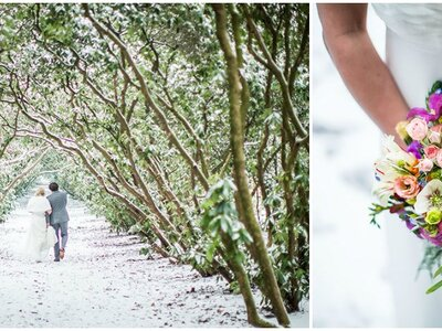 Droom winter-wedding shoots: zo kan je winterbruiloft er uitzien!