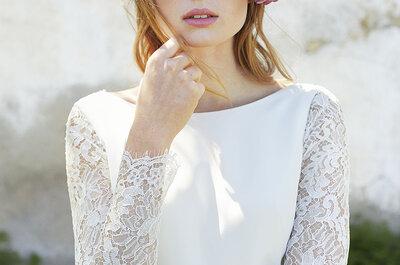 El look beauty soñado para las novias más románticas