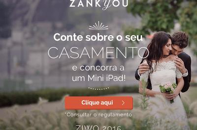 Especial noivos: responda a pesquisa sobre casamentos e concorra a um Mini iPad!
