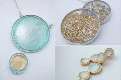 Hermosas joyas hechas a mano para novia de Amy Torello