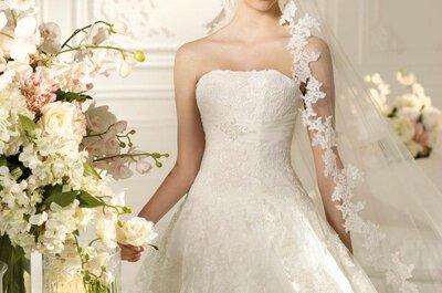 Romantische Brautkleider aus der Kollektion 2013 von White One