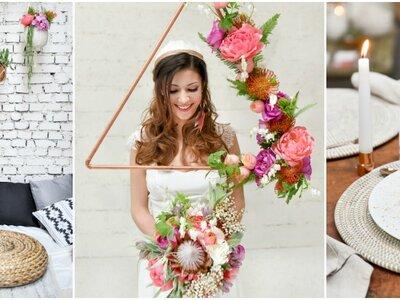 Une inspiration ethnique et fleurie pour votre mariage !