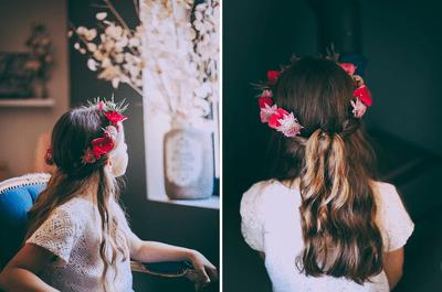 Comment coiffer les petites filles de votre mariage en 2016
