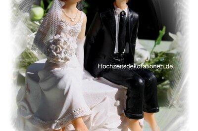 Dekoration für Ihre Hochzeit von Hochzeitsdekorationen.de