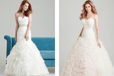 Vestidos de novia Allure para boda en primavera 2013