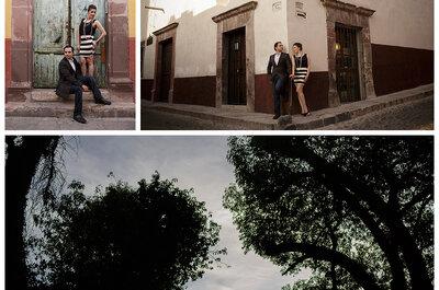 Sesión de fotos pre boda de Marijo y Jimmy en San Miguel de Allende